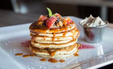 Eiweißreiche Protein Pancakes